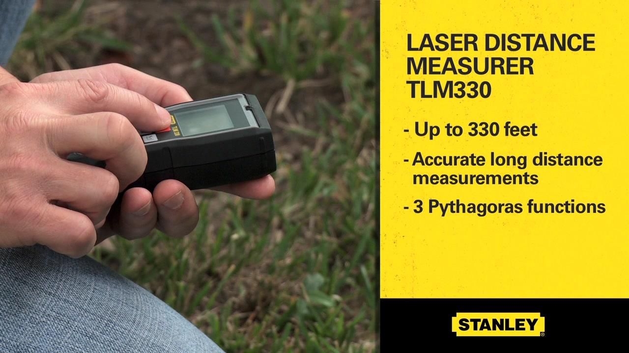 TLM330 Laser Distance Measurer | STANLEY