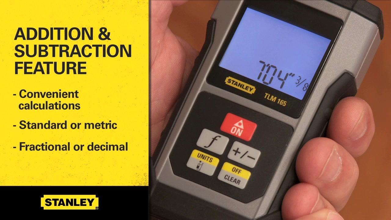 TLM99 Laser Distance Measurer  | STANLEY
