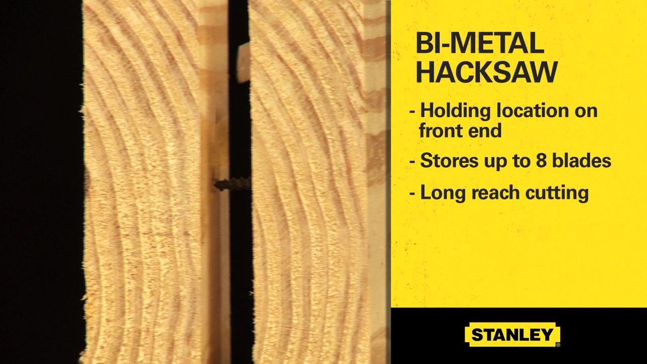 STANLEY® Hacksaw Lineup | STANLEY® Tools