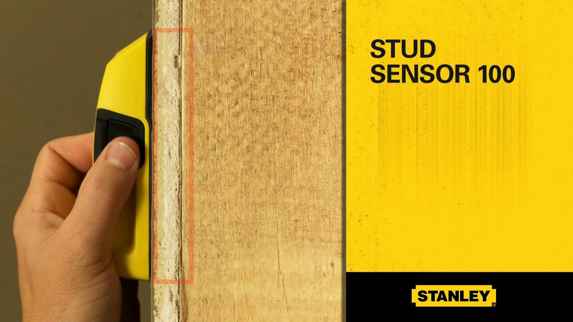 STANLEY® Stud Sensor 100™ | STANLEY® Tools