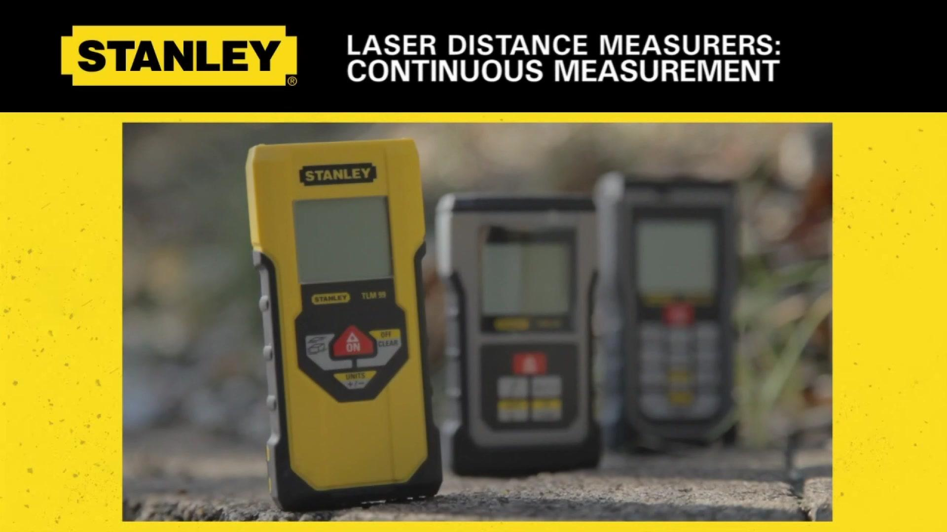Continuous Measurement on Stanley LDM's | STANLEY