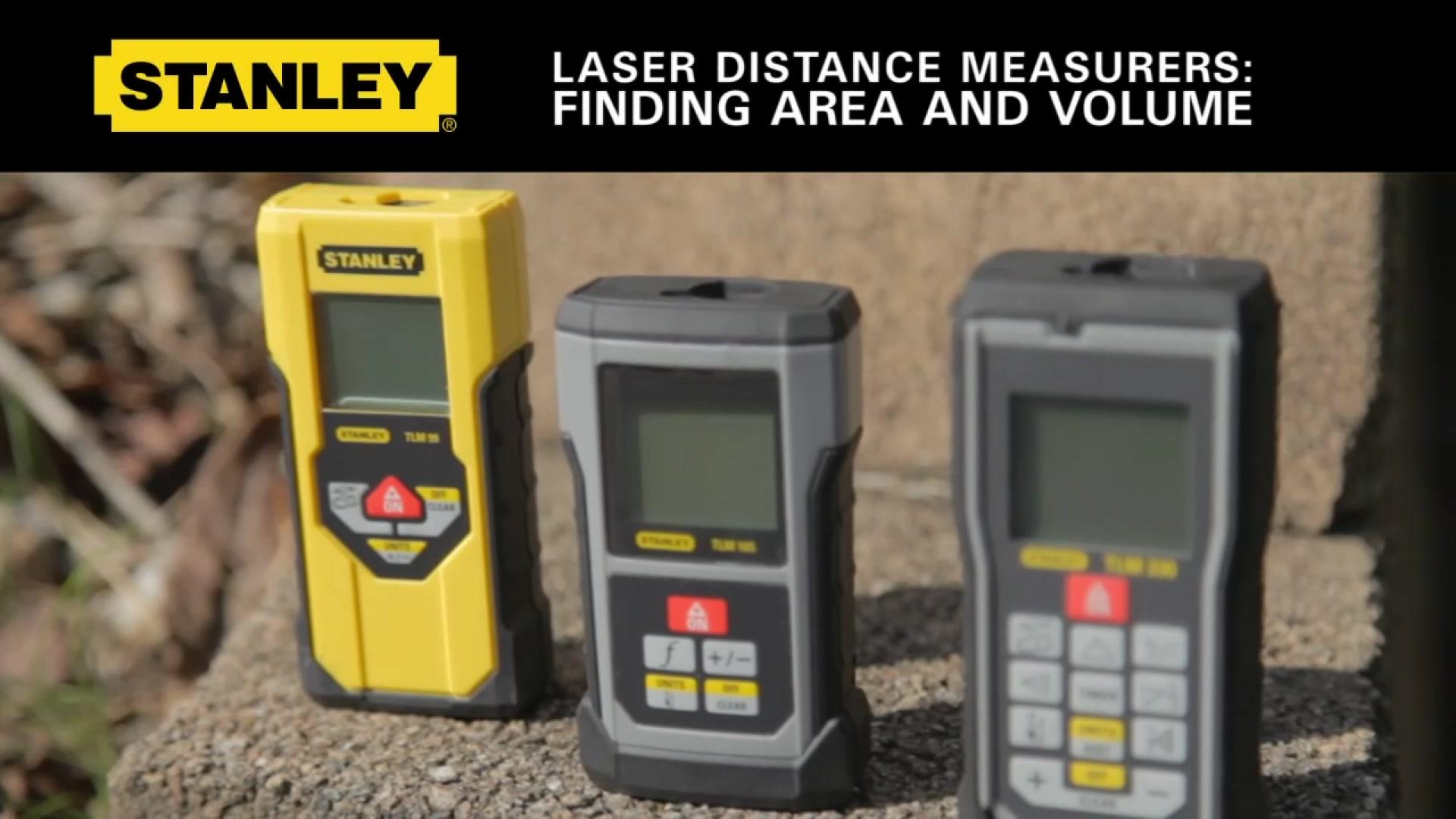 Finding Area and Volume on Stanley LDM's | STANLEY